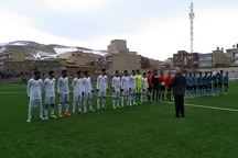 تیم فوتبال موکریان مهاباد مقابل شهید مولایی قائمشهر متوقف شد
