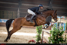 برگزاری دومین رویداد پرش با اسب در قزوین