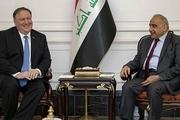 پمپئو با نخست وزیر عراق تماس گرفت