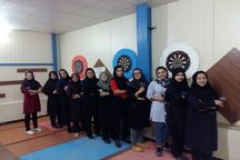 مسابقات دارت رنکینگ زنان  قزوین برگزار شد