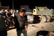 تصادف در دزفول یک کشته و 2مصدوم داشت