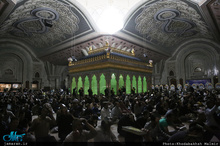 مراسم شب نوزدهم ماه مبارک رمضان درحرم مطهر امام خمینی (س)