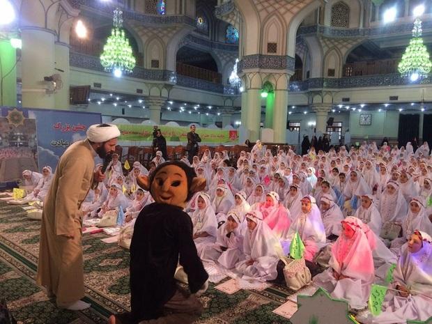 جشن عبادت 124 دانش آموز در حرم عبدالعظیم (ع) برگزار شد