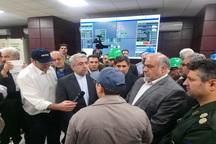 نیروگاه داریان با حضور وزیر نیرو افتتاح شد