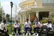 آوازخوانی بازیکنان پرسپولیس به زبان محلی + فیلم