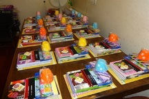 354 بسته آموزشی بین مددجویان کمیته امداد مهاباد توزیع شد