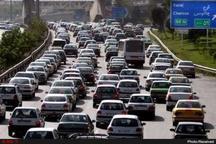 ترافیک سنگین در محور رشت - قزوین