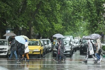 25.2 میلی متر در استان تهران باران بارید
