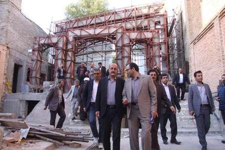 اتمام پروژه امامزاده هاجرخاتون نیازمند همکاری تمامی سازمان ها و نهادها است