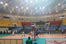 تیم والیبال شهرداری ارومیه در غیاب تماشاگرانش باخت