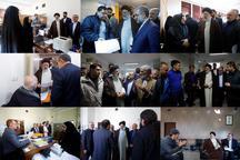 بازدید سر زده رییسی از دادگستری شهریار+ عکس