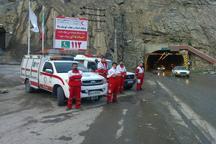 هلال احمر البرز به 400 حادثه دیده خدمات ارائه کرد