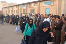 308 دانش آموز جوانرودی به مناطق عملیاتی غرب کشور اعزام شدند