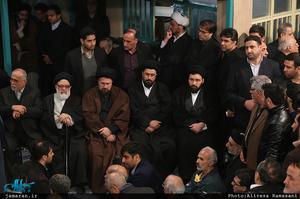 مراسم وداع با پیکر آیت الله هاشمی رفسنجانی(ره) در حسینیه جماران-15