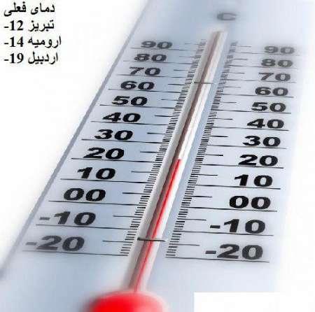 ثبت دمای 42 درجه در پلدشت  دمای هوا در آذربایجان غربی کاهش می یابد