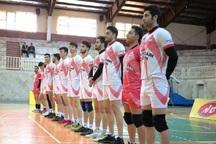 تیم والیبال شهرداری قزوین در یک قدمی لیگ برتر قرار گرفت