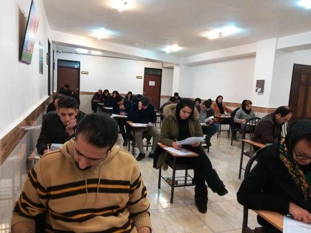 آزمون جامع دورههای کوتاه مدت گردشگری در تبریز برگزار شد