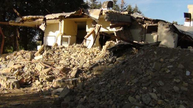 نخاله های ساختمانی ابزار جدید زمین خواری در لرستان