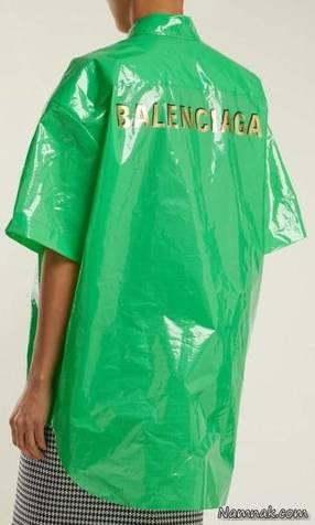 لباسی گران قیمت از جنس کیسه زباله! + عکس