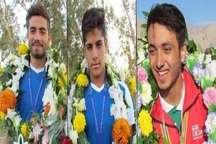 سه ورزشکار گچسارانی به اردوی تیم ملی واترپلو دعوت شدند