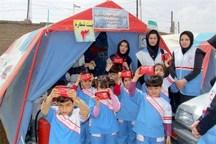 استقرار نجاتگران جمعیت هلال احمر آذربایجان شرقی در 43 پایگاه ثابت و موقت