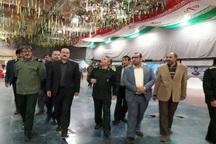 استاندار قزوین از محل کنگره ملی شهدای قزوین بازدید کرد