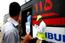 21هزارنفر در جنوب کرمان خدمات اورژانس دریافت کردند
