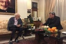 حناچی درگذشت استاد مشایخی را تسلیت گفت