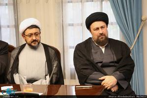 بازدید سید حسن خمینی از موسسه فرهنگی اکو/