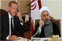 رئیسجمهور روحانی: تهران و آنکارا برای نجات مردم سوریه، بویژه در غوطه شرقی وظیفه سنگینی بر دوش دارند/ ایران و ترکیه آماده استفاده از پول ملی در معاملات مشترک هستند
