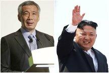 عکس/ دیدار نخست وزیر سنگاپور با رهبر کره شمالی