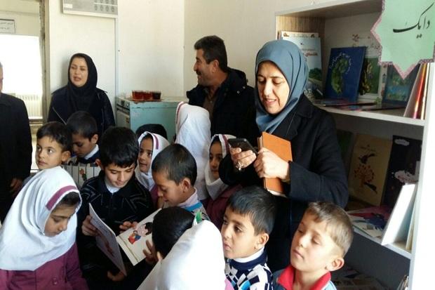 هجدهمین کتابخانه اهدایی خیران در مهاباد راه اندازی شد