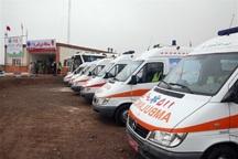 آمبولانس های اعزامی هرمزگان در مرز شلمچه مستقر هستند