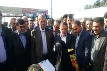 وزیر تعاون، کار و رفاه اجتماعی وارد قزوین شد
