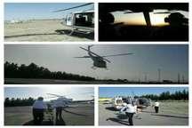 خدمات هوایی به 24 مصدوم حوادث در البرز