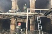 ۱۰۰مغازه در بازار جهانی تبریز آسیب دیدند