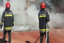 آتش سوزی جمعه بازار یاسوج مهار شد