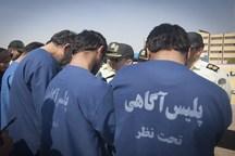 ۲۱ سارق حرفهای در دهلران دستگیر شدند