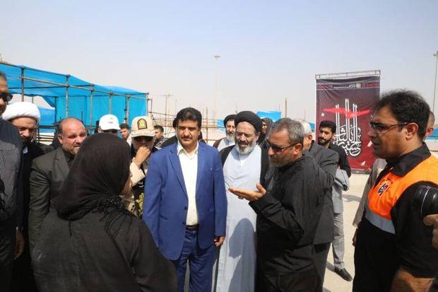 نماینده ولی فقیه در امور حج و زیارت از مرز چذابه بازدید کرد