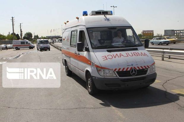 تصادف اتوبوس با پراید در مسیر زاهدان - خاش سه کشته برجا گذاشت