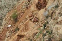نجات جوان اسفراینی از زیر آوار معدن آلبلاغ