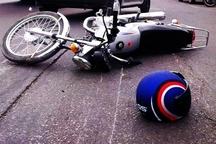 برخورد موتورسیکلت با خاور، جان جوان قمی را گرفت