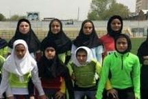 کردستان نایب قهرمان مسابقات دو و میدانی نونهالان منطقهای دختر کشور شد