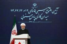 روحانی: تحریم قبل از هر چیز، جنگ روانی است/هدفشان از تحریم، نگران کردن مردم از آینده است/ آمریکا بداند ملت ایران در صف واحدند و سر فرود نخواهند آورد