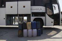 اتوبوس حامل سوخت قاچاق در یزد توقیف شد