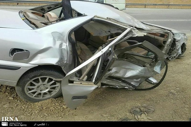 تصادف در محور بوکان - میاندوآب 2 کشته برجا گذاشت
