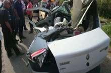 تصادف در لرستان 2 کشته برجای گذاشت