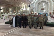 کارکنان پدافند هوایی با آرمانهای امام راحل تجدید میثاق کردند