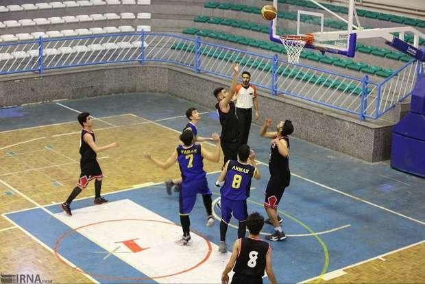 تیم بسکتبال جوانان گیلان عازم مرحله یک هشتم نهایی شد