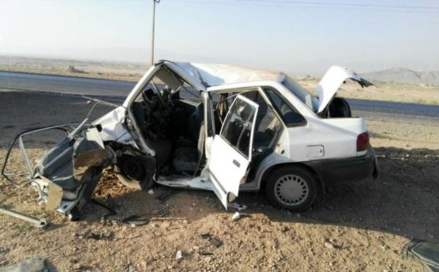 سانحه رانندگی  در آزاد راه اصفهان به نطنز 6 مصدوم داشت